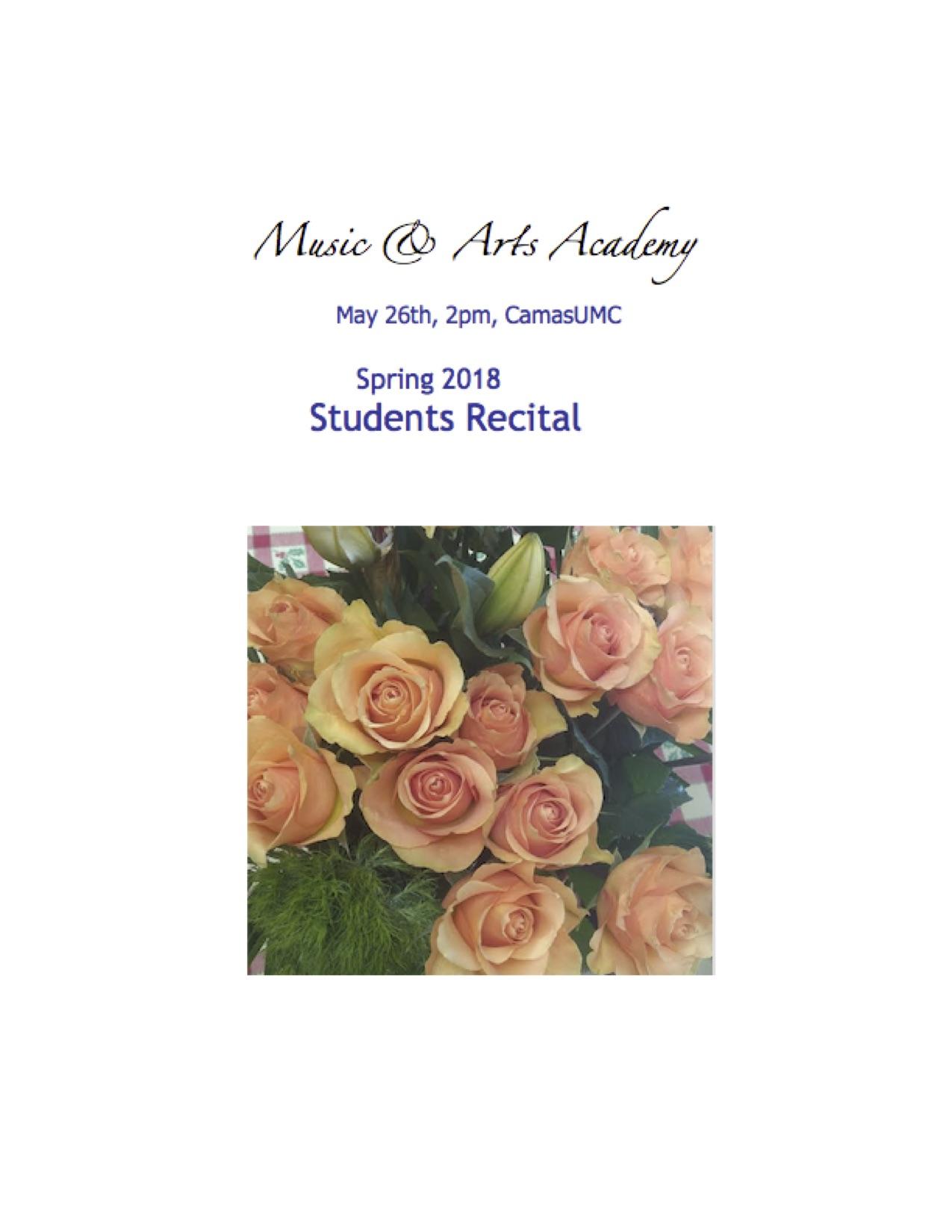 Spring2018StudentsRecital_flyer